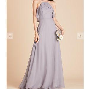 Burst Grey Silver Jules Bridesmaid Dress - L